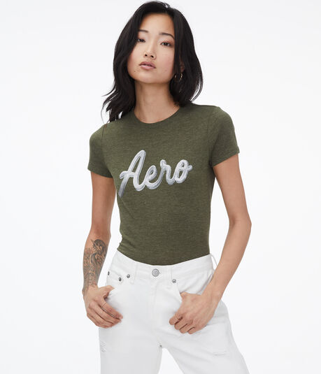 Sequined Aero Graphic Tee