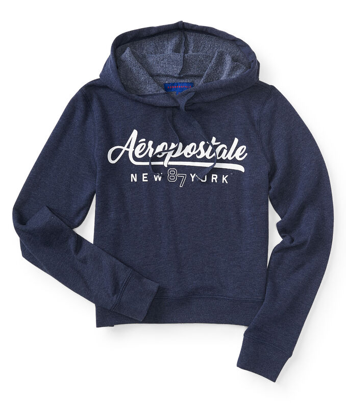 Script Aéropostale New York Pullover Hoodie