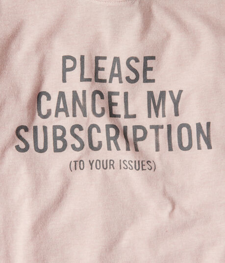 Free State Please Cancel Graphic Tee