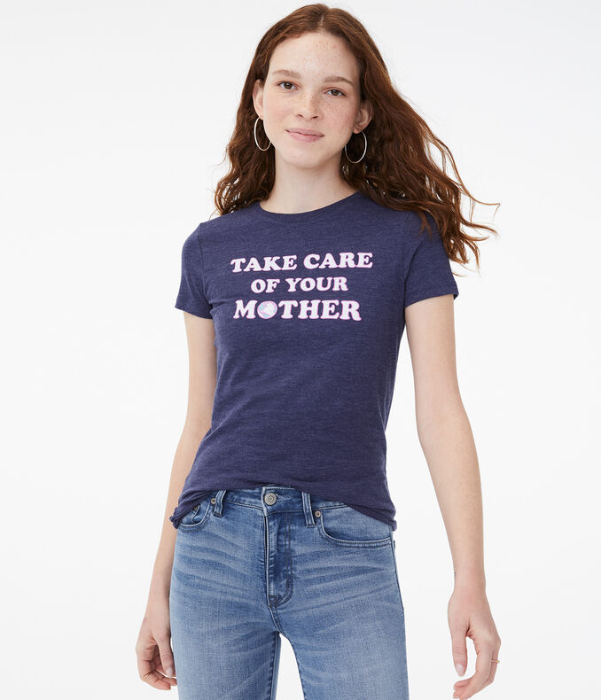 Earth Day Take Care of Your Mother Graphic Tee