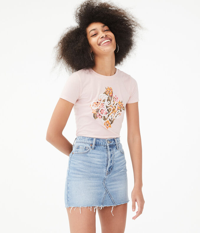 Aero Cali Floral Graphic Tee