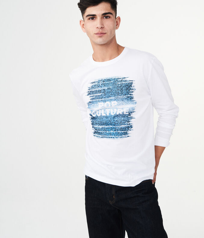 Long Sleeve Pop Culture Graphic Tee