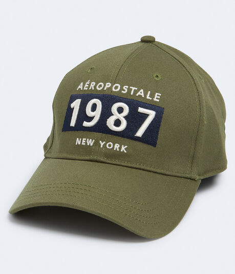 Aeropostale 1987 New York Fitted Hat***