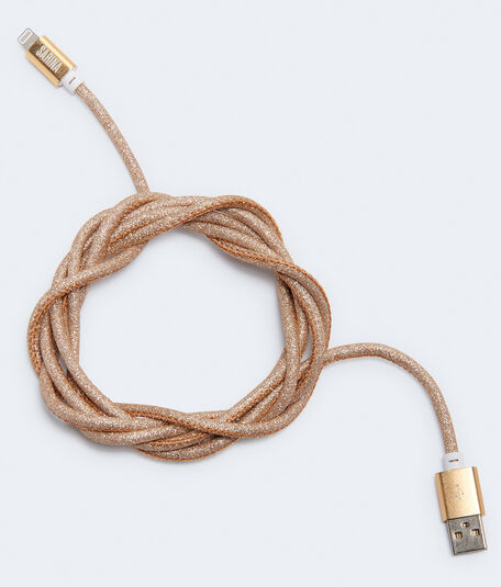Glittery 6' Lightning-To-USB Cable
