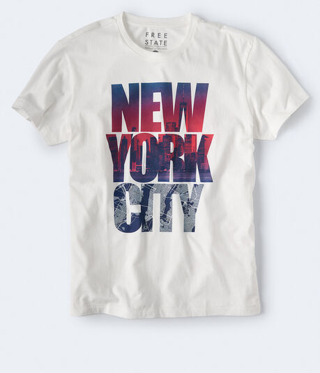 Free State Stacked New York City Graphic Tee