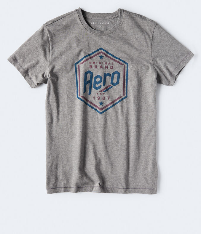 Aero Original Brand Hexagon Graphic Tee***