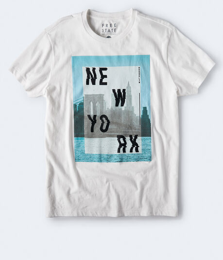 Free State Wavy New York Graphic Tee