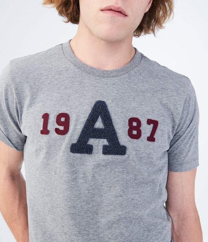 "1987 ""A"" Graphic Tee"