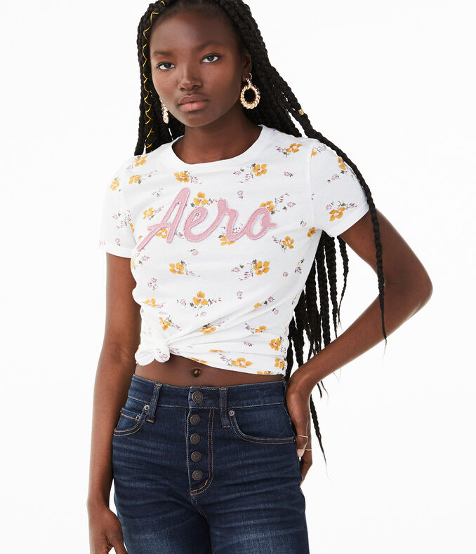 Aero Floral Graphic Tee by Aeropostale