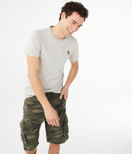 "Camo Stretch 10.5"" Cargo Shorts"