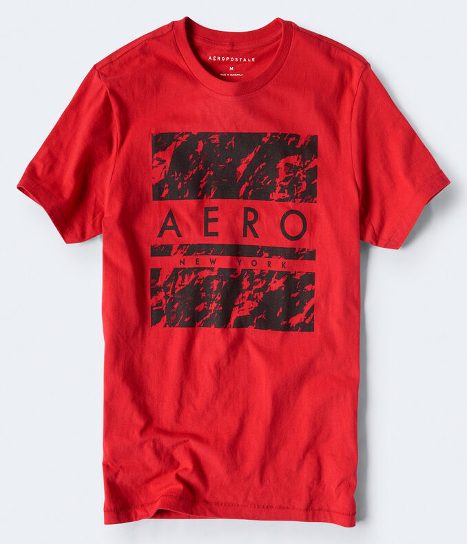 Aero New York Square Graphic Tee