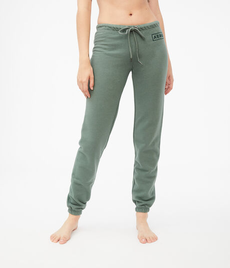 Embroidered Aero Logo Cinched Sweatpants