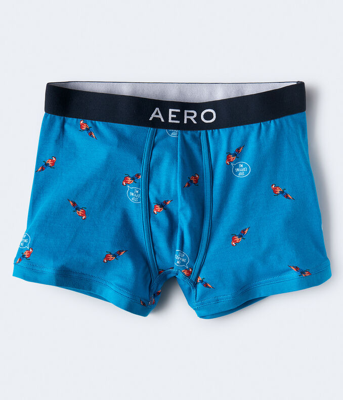 Parrot Knit Trunks