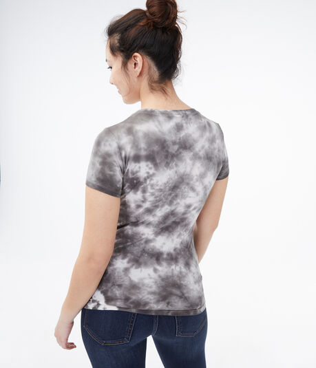 Rose Duo Tie-Dye Graphic Tee