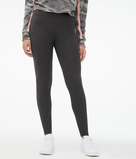 Seriously Soft Heathered High-Rise Leggings