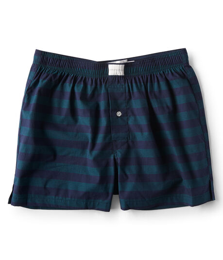 Striped Woven Boxers