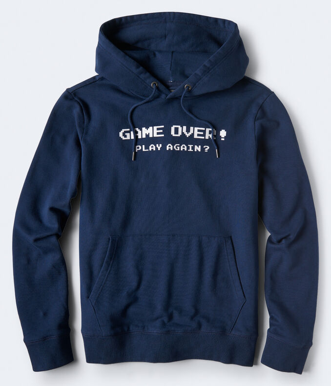 Game Over Pullover Hoodie
