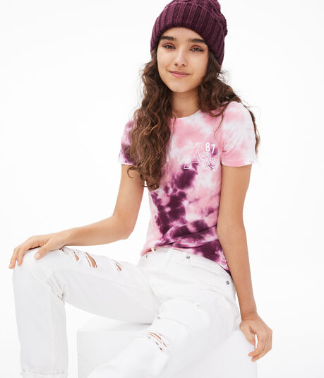 A87 Tie-Dye Graphic Tee