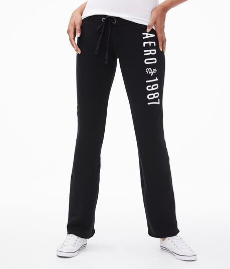 Aero NYC 1987 Fit & Flare Sweatpants