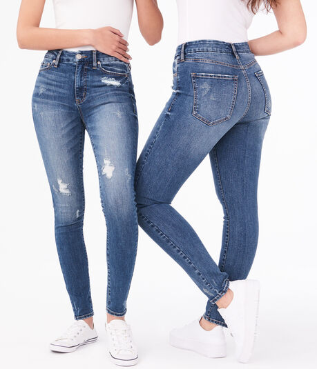 Seriously Stretchy High-Waisted Slim & Thick Curvy Jegging
