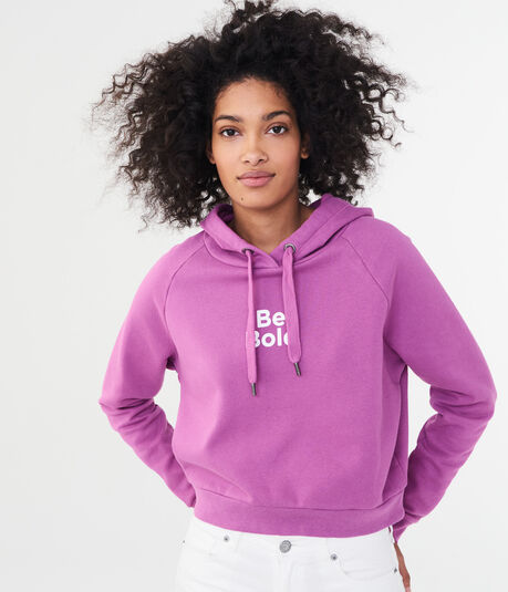 Be Bold Pullover Hoodie