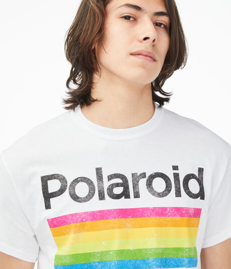 Polaroid Color Spectrum Graphic Tee