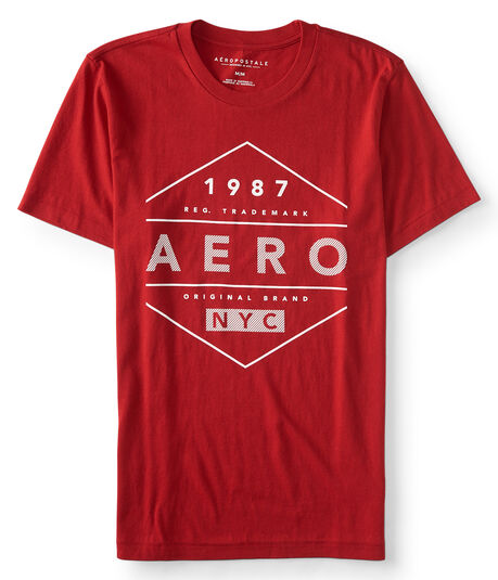 Aero Diamond Logo Graphic Tee***