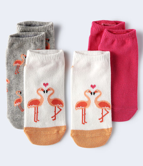 Flamingo Ankle Sock 3-Pack