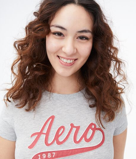 Aero 1987 Logo Graphic Tee