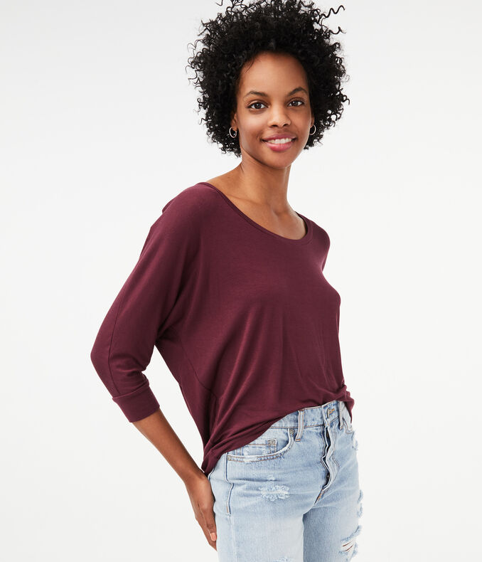 Seriously Soft Slouchy Dolman Top