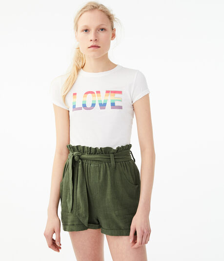 Rainbow Love Graphic Tee