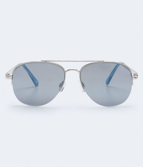 Mirrored Aviator Sunglasses***