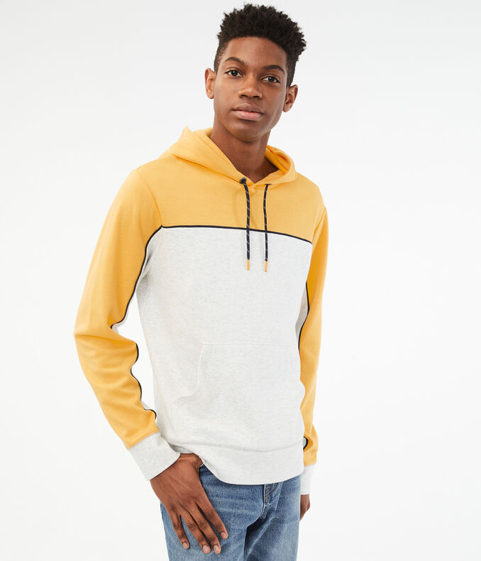 Colorblock Tech Fleece Pullover Hoodie