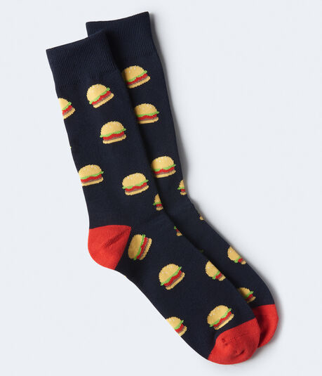 Hamburger Crew Socks
