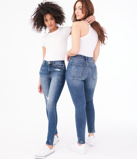 Real Denim High-Rise Slim & Thick Curvy Jegging