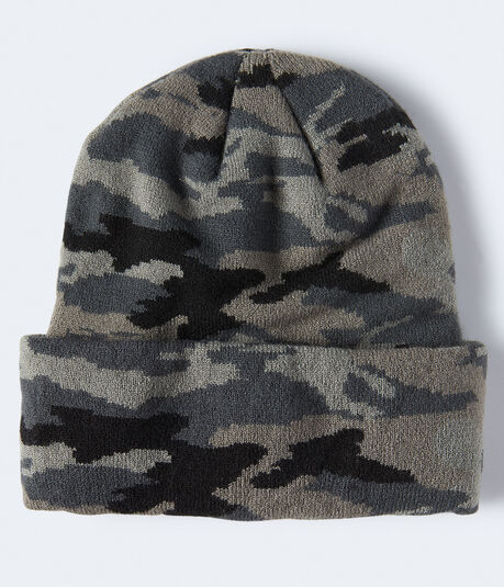 Camo Turnback Beanie