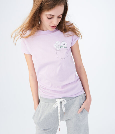 Free State Flower Pocket Graphic Tee