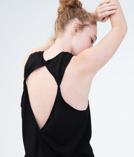LLD Solid Twist Open-Back Tank