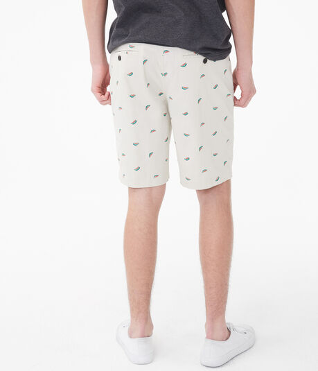 "Watermelon Classic 9.5"" Stretch Twill Shorts"