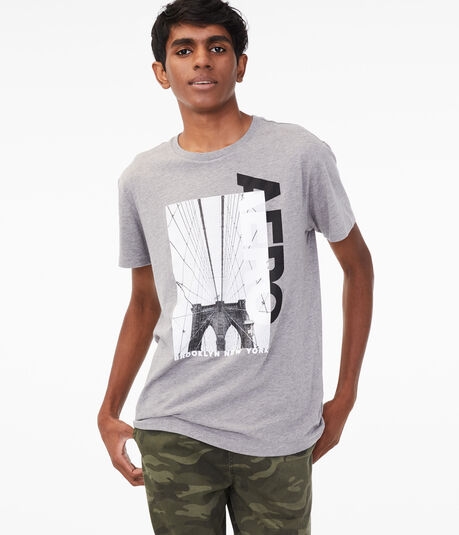 Aero Brooklyn Bridge Graphic Tee