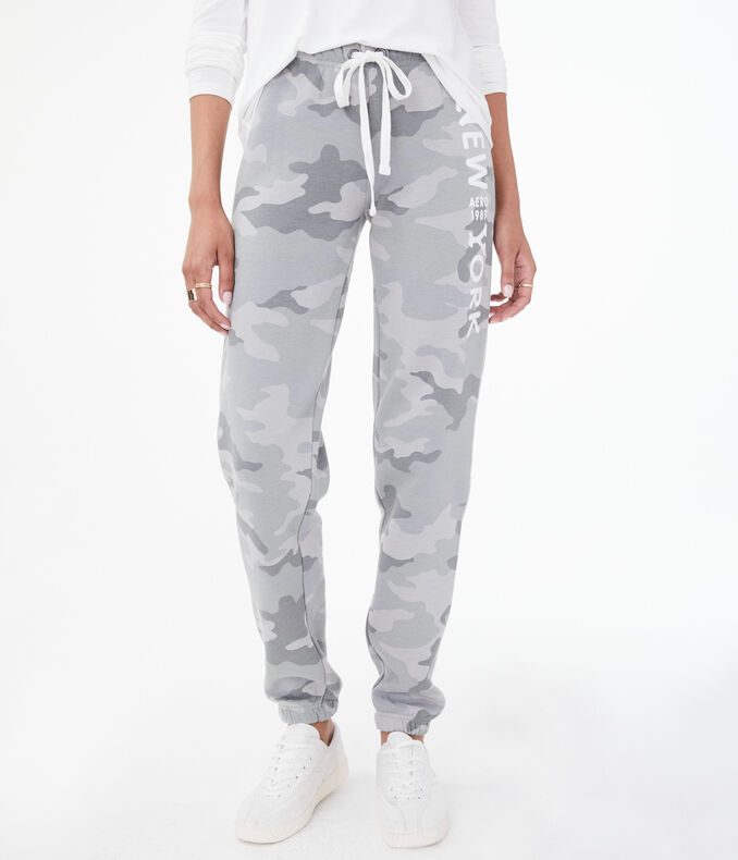 Camo New York Classic Cinch Sweatpants