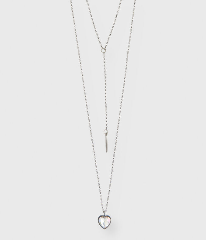 Heart Short/Long-Strand Necklace 3-Pack