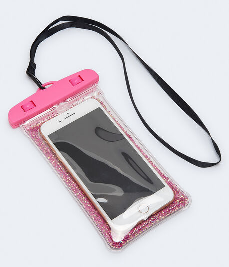 Glitter Waterproof Cell Phone Pouch