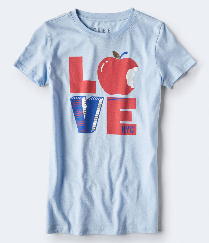 Free State Love Pop Art Graphic Tee