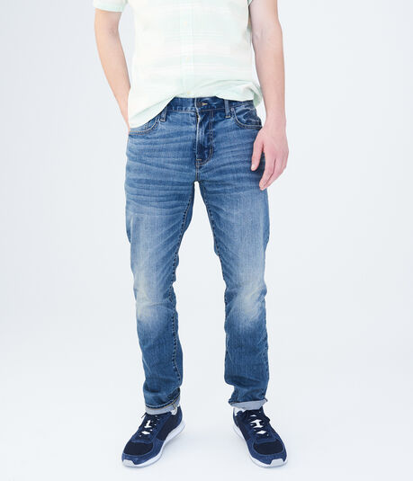 Skinny Medium Wash Stretch Jean