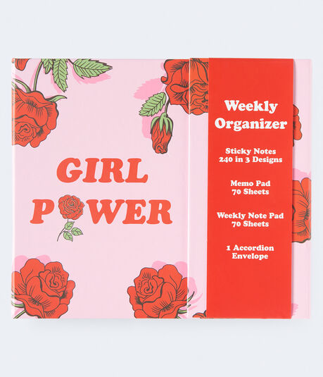 Girl Power Weekly Organizer