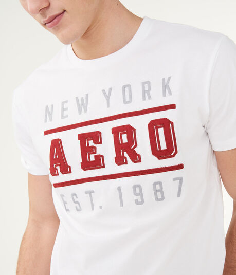 New York Aero 1987 Logo Graphic Tee