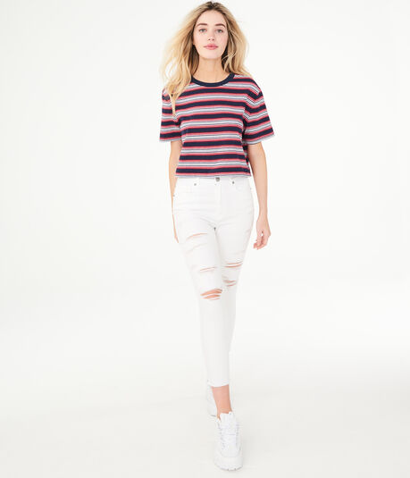 Seriously Stretchy Super High-Rise Crop Jegging