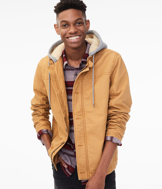 Hooded Carpenter Jacket