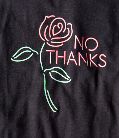 Free State No Thanks Rose Graphic Tee